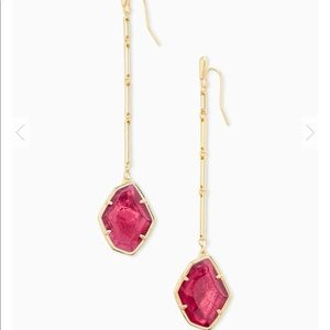Kendra Scott Charmian Gold Drop Earrings